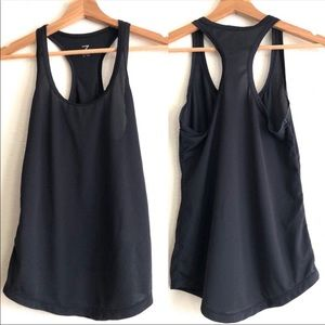 Z by Zella Black racerback tank top XS